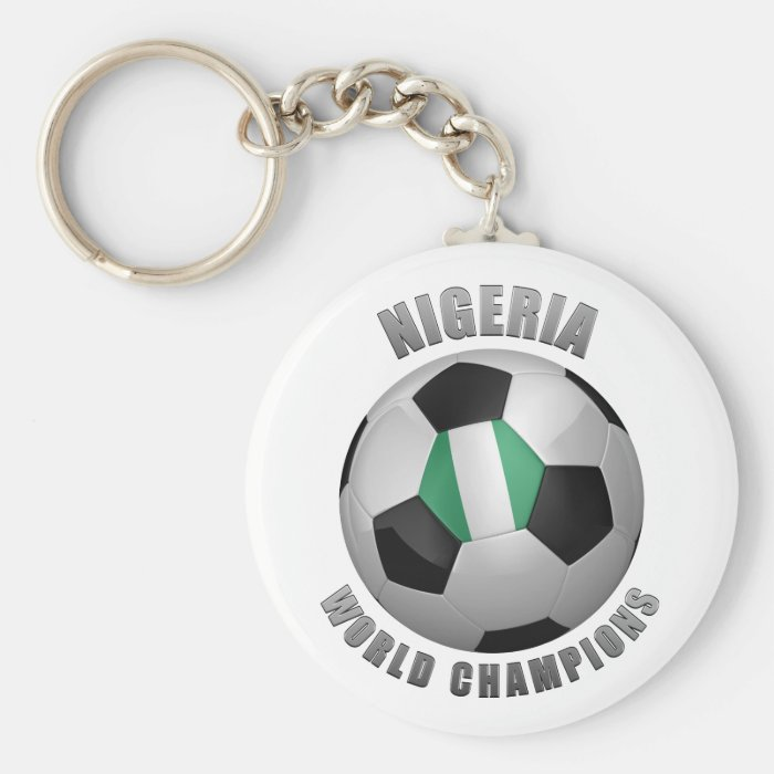 NIGERIA SOCCER CHAMPIONS KEYCHAIN