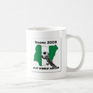 Nigeria soccer classic white coffee mug