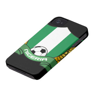 Nigeria Soccer iPhone 4/4S Case-Mate Barely There Case-Mate iPhone 4 Case