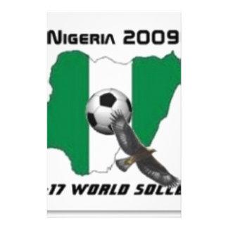 Nigeria soccer stationery