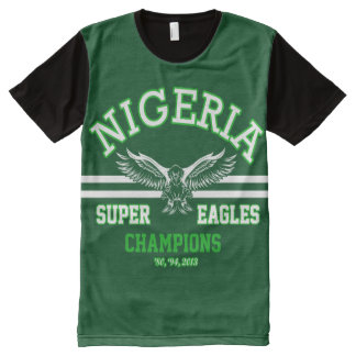 Nigeria Super Eagles All-Over-Print Shirt