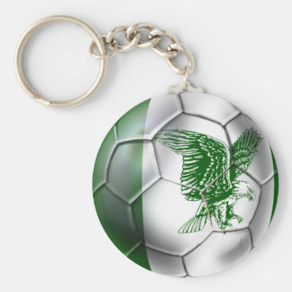 Nigeria Super Eagles Soccer team fans ball Keychain