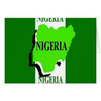 Nigeria Tarjeta De Felicitación
