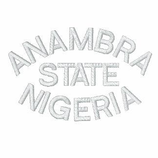 NIGERIA TRACK SUIT EMBROIDERED JACKET