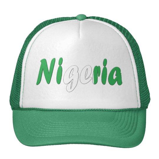 Nigeria Trucker Hat