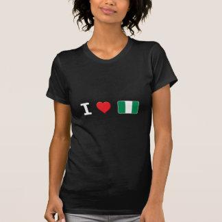 Nigeria W micro Camisetas
