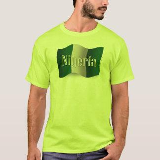 Nigeria Waving Flag T-Shirt