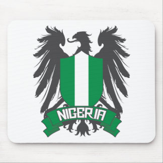 Nigeria Winged Mouse Pad