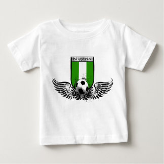 Nigeria Winged soccer football emblem shield Baby T-Shirt
