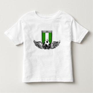 Nigeria Winged soccer football emblem shield Toddler T-shirt