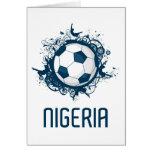 Nigeria World Greeting Card