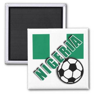 NIGERIA World Soccer Fan Tshirts Magnet