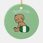 Nigerian Baby Christmas Tree Ornament