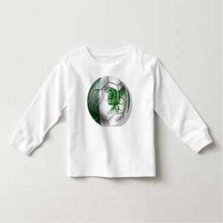 Nigerian ball for Nigerian soccer players T Shirt