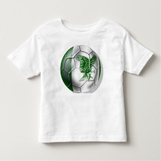 Nigerian ball for Nigerian soccer players Tee Shirt