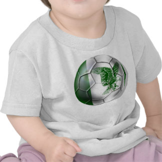 Nigerian ball for Nigerian soccer players T Shirts