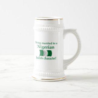 Nigerian Builds Character Beer Stein