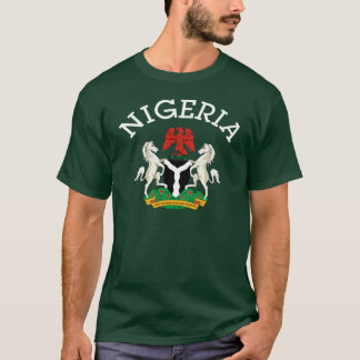 Nigerian Coat of arms design T-Shirt