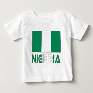 Nigerian Flag and Nigeria Baby T-Shirt
