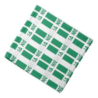 Nigerian Flag and Nigeria Bandana