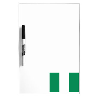 Nigerian Flag Dry-Erase Whiteboards