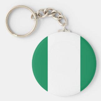 Nigerian Flag Keychain