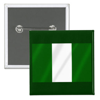 Nigerian flag of Nigeria shirts and presents Button