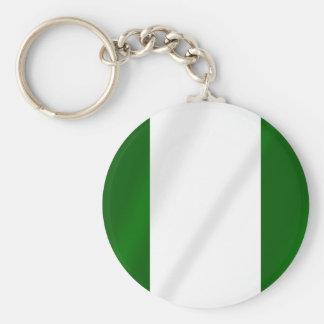 Nigerian flag of Nigeria shirts and presents Keychain