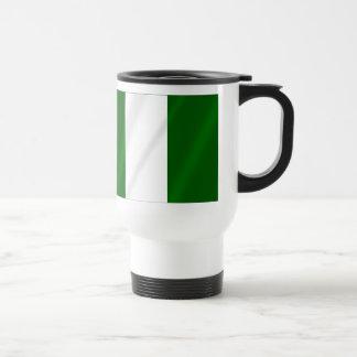 Nigerian flag of Nigeria shirts and presents 15 Oz Stainless Steel Travel Mug