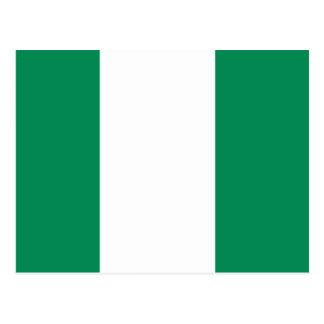 Nigerian Flag Postcard
