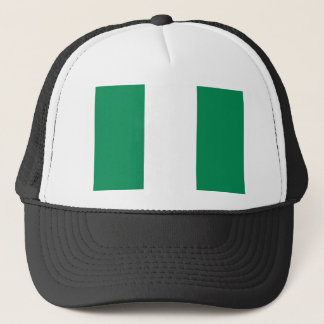 Nigerian Flag Trucker Hat