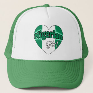 Nigerian Girl Trucker Hat