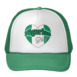 Nigerian Girl Trucker Hat