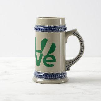 Nigerian LOVE Green Beer Stein