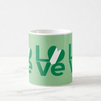 Nigerian LOVE Green Classic White Coffee Mug