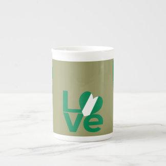Nigerian LOVE Green Tea Cup