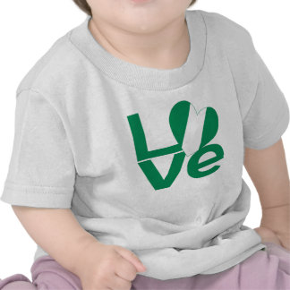 Nigerian LOVE Green T Shirt