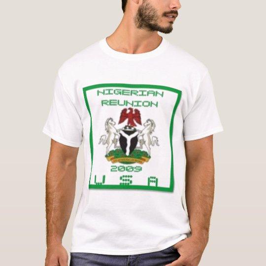 NIGERIAN REUNION 2009 T-SHIRT