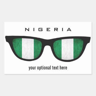 Nigerian Shades custom stickers