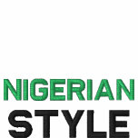 Nigerian, Style Custom Track Suit Embroidered Jacket