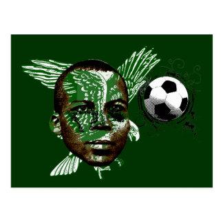 Nigerian Super Eagles Dream of glory gifts Postcard