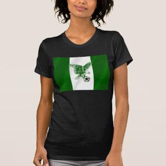 Nigerian Super Eagles soccer flag of Nigeria T-Shirt