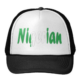 Nigeriano Gorras