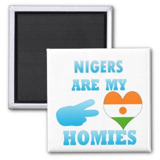Nigerians are my Homies Fridge Magnet