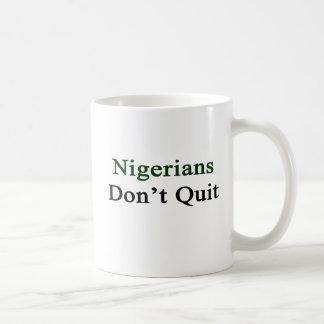 Nigerians Don't Quit Coffee Mugs