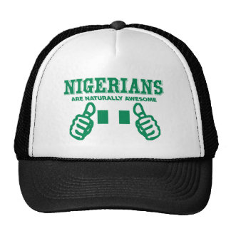 Nigerians es naturalmente impresionante gorro de camionero