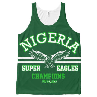 Nigeria's Super Eagles All-Over-Print Tank Top