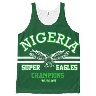 Nigeria's Super Eagles All-Over Print Tank Top