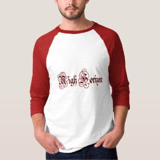 Nigh Horizon Bleeding Logo Basic 3/4 Sleeve Raglan T Shirt
