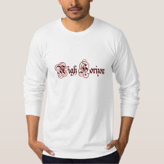 Nigh Horizon Bleeding Logo Long Sleeve (Fitted) Shirt